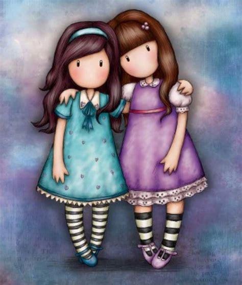 Sisters   Santoro Gorjuss | Dibujos, Gorjuss muñecas ...