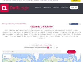 Sito Maps Distance Calculator