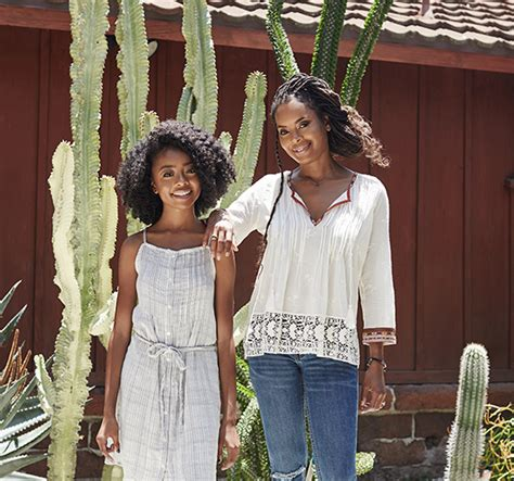 SKAI JACKSON AND HER MOTHER, KIA COLE, ARE JOIE.COM S ...