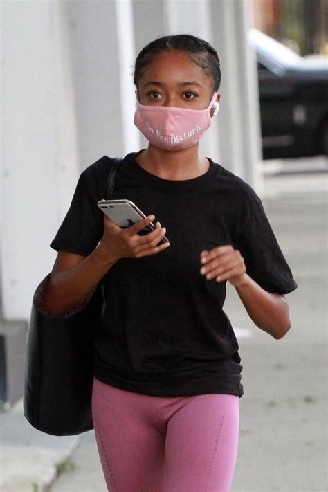 SKAI JACKSON Arrives at DWTS Studio in Los Angeles 09/25 ...