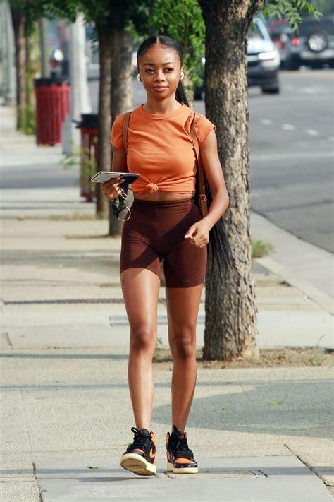 SKAI JACKSON Arriving at a Dance Studio in Los Angeles 09 ...