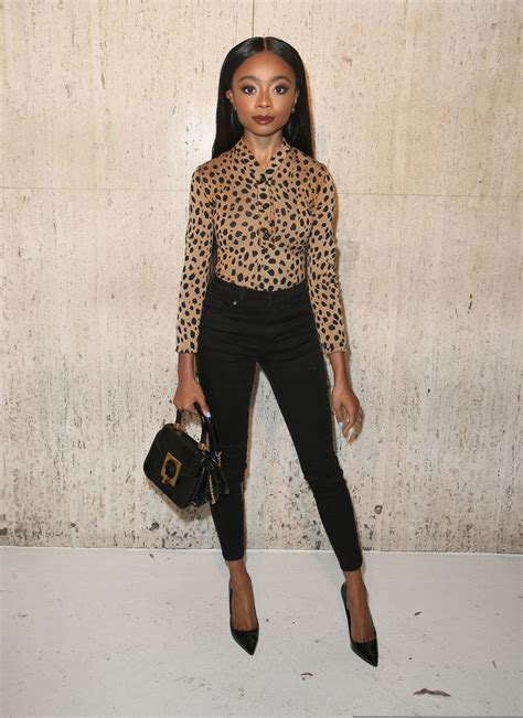 SKAI JACKSON at Christopher Kane Party in Los Angeles 04 ...
