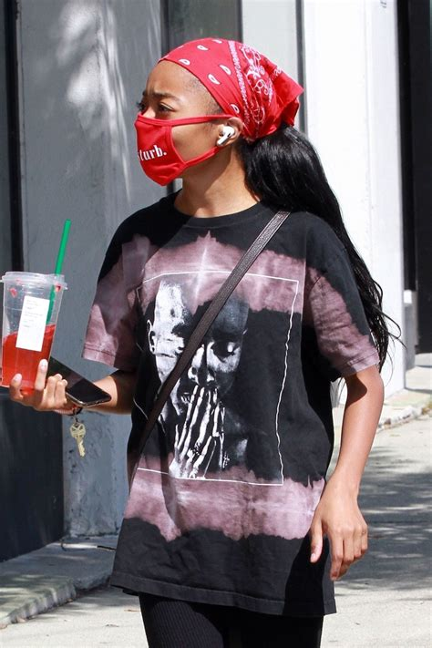 SKAI JACKSON at DWTS Studio in Los Angeles 09/2020 ...