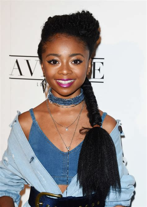 SKAI JACKSON at Nylon Young Hollywood May Issue Party in ...