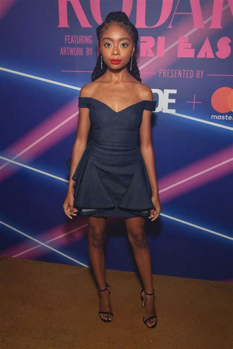 Skai Jackson Attends a Limited Edition Capsule ...