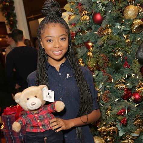 SKAI JACKSON ATTENDS ANNUAL BROOKS BROTHERS  HOLIDAY PARTY ...