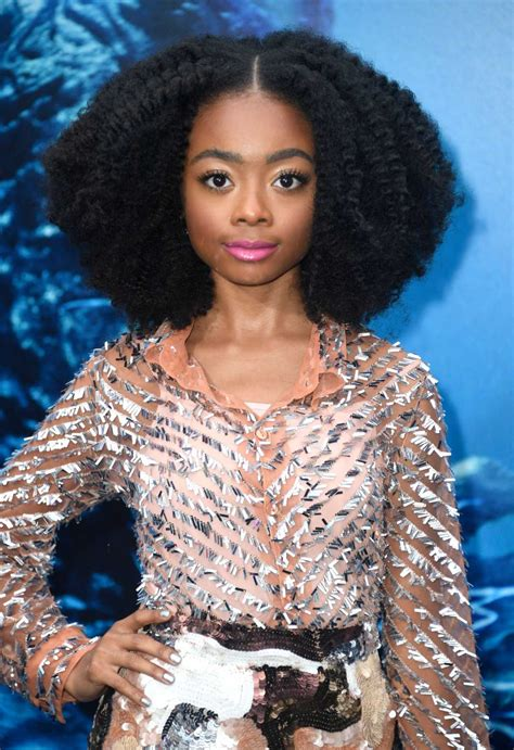 Skai Jackson Attends the Godzilla: King of The Monsters ...