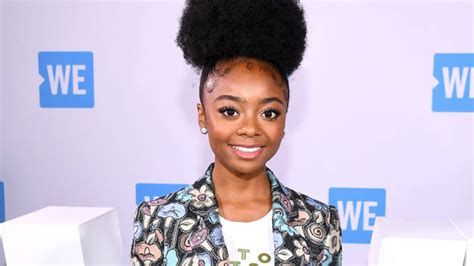 Skai Jackson calls out Twitter trolls for claiming that ...