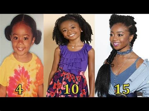 Skai Jackson | From 0 To 15 Years Old   YouTube