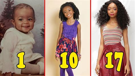 Skai Jackson From 0 to 17 Years Old 2019   Star Online ...