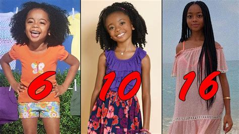 Skai Jackson From 1 To 16 Years Old   Star News   YouTube