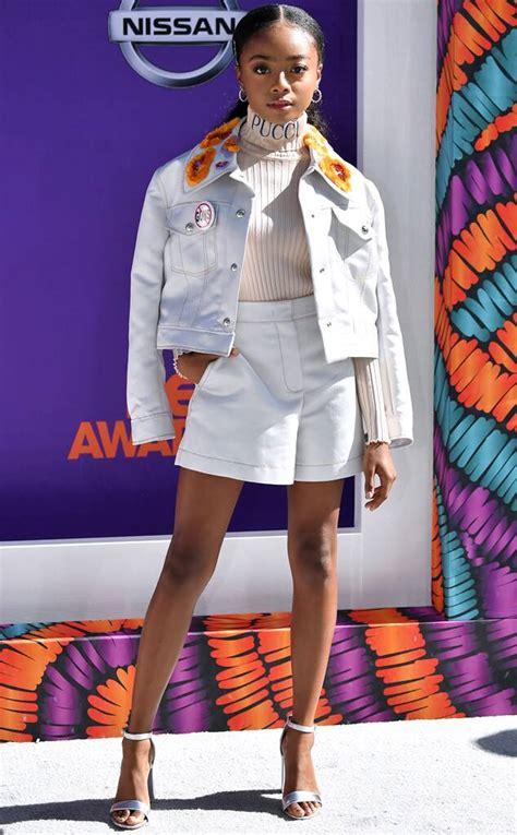 Skai Jackson from BET Awards 2018: Best Dressed Stars | E ...