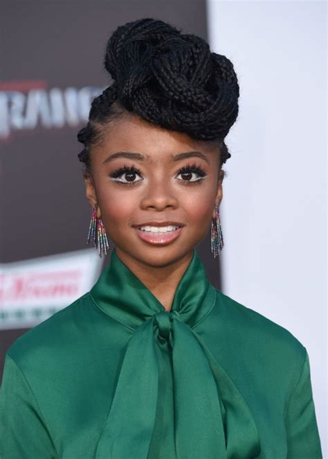 Skai Jackson hits the red carpet after her meme took ...
