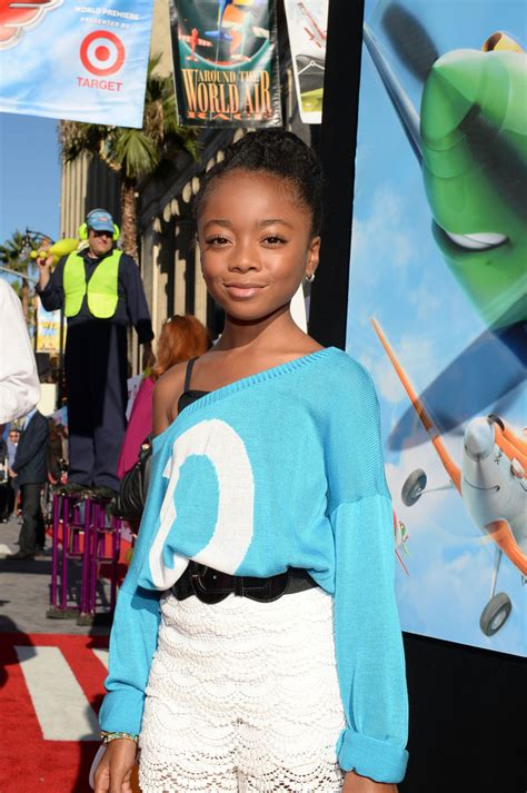 Skai Jackson in  Planes  Premieres in Hollywood — Part 2 ...