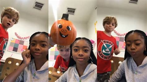 Skai Jackson | Instagram Live Stream | 1 December 2017 ...
