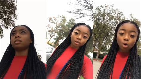 Skai Jackson | Instagram Live Stream | 12 November 2017 ...