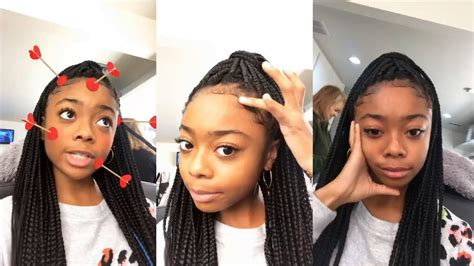 Skai Jackson | Instagram Live Stream | 2 November 2017 ...