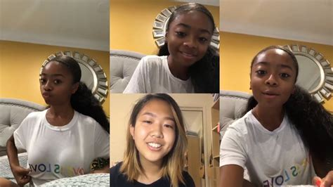 Skai Jackson | Instagram Live Stream | 25 October 2018 ...