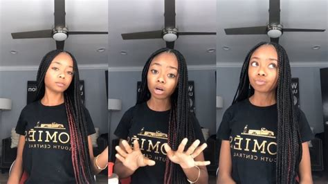 Skai Jackson | Instagram Live Stream | 8 November 2018 ...
