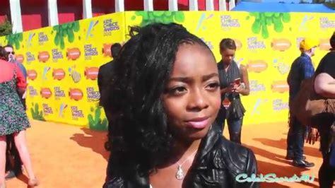 Skai Jackson Interview   2015 Kids  Choice Awards   YouTube