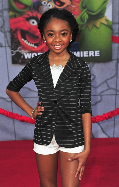 Skai Jackson Photos    Muppets Most Wanted  Premieres in ...