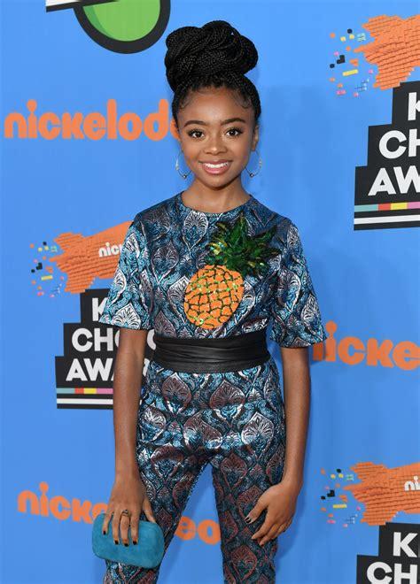 Skai Jackson – 2018 Nickelodeon Kids  Choice Awards