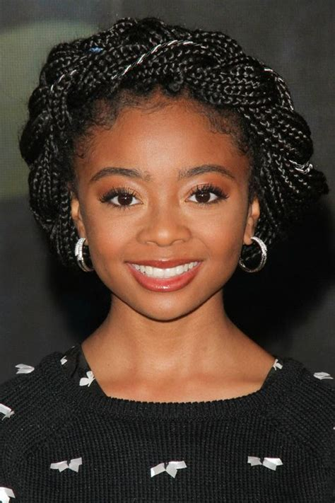 Skai Jackson s Hairstyles & Hair Colors   Steal Her Style