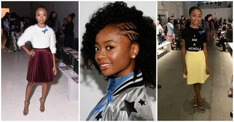 Skai Jackson s NYFW Diary: Get All the Details   Teen Vogue