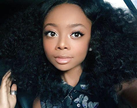 Skai Jackson | Skai jackson, Natural hair styles ...