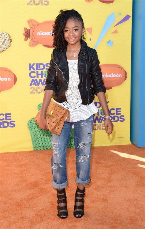 Skai Jackson   Skai Jackson Photos   Nickelodeon s 28th ...