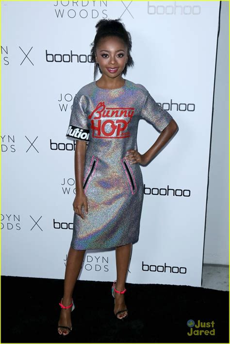 Skai Jackson & Sophie Reynolds Step Out For The  Boohoo x ...
