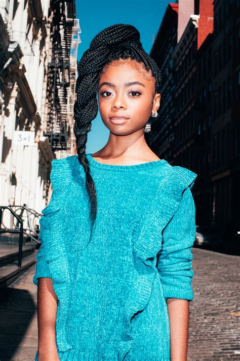 Skai Jackson Talks Her Personal Style, Staying Positive ...