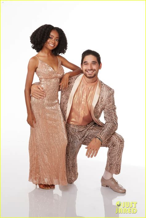 Skai Jackson Tangos With Alan Bersten On  Dancing With The ...