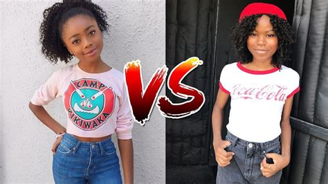 Skai Jackson vs Riele Downs From 1 to 17 Years Old 2019 ...
