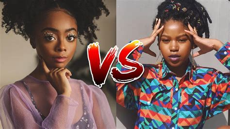 Skai Jackson vs Riele Downs from 1 to 18 Years Old 2020 ...