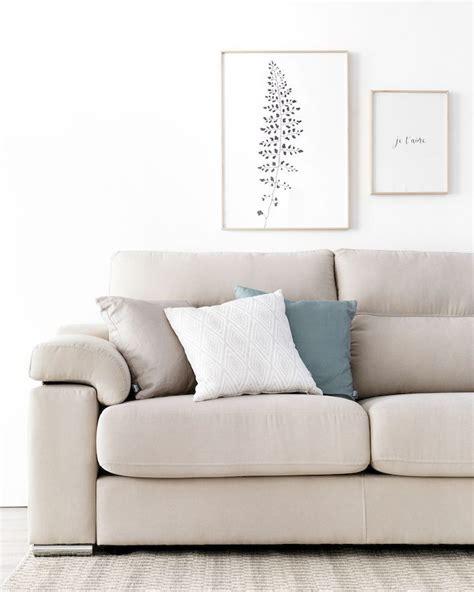 Skan mesa de centro de vidrio   Decoración sofá beige ...