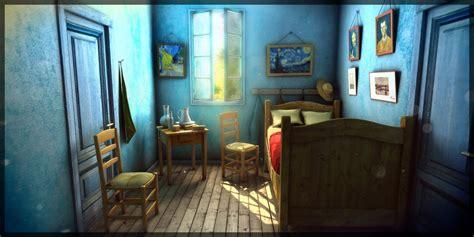 Sketchfab Community Blog   Art Spotlight: Van Gogh Room ...
