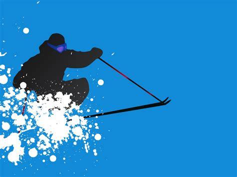Ski Vector Vector Art & Graphics   freevector.com