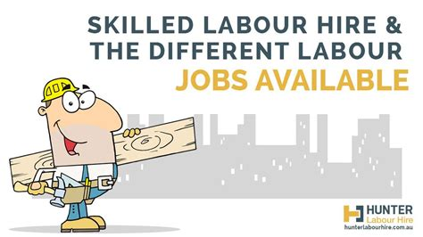 Skilled Labour Hire & The Different Types of Labour Jobs