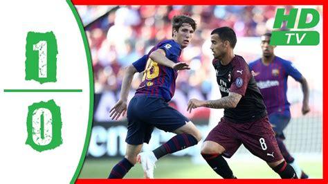 SKRÓT: Milan   FC Barcelona   FCBTV.pl