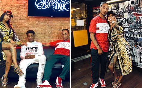 Sky From  Black Ink Crew  Shares Photos With Both of Her ...