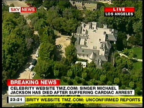 Sky News TV   Michael Jackson Has Died, Confirmation HD ...