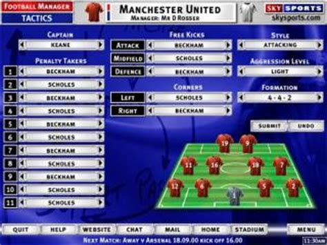 Sky Sports Football Manager  Game    Giant Bomb