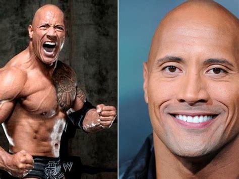 'La roca' tiene un primo muy parecido a él, incluso ...