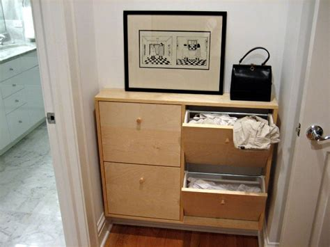 Slim laundry hamper made to fit small laundry area   IKEA ...