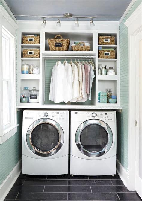 Small laundry room storage and organization ideas  60 ...