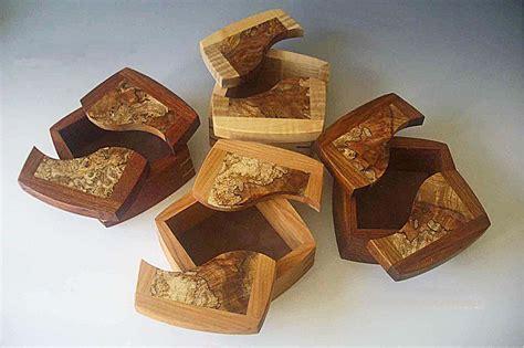 Small Wood Boxes or Decorative Keepsake Boxes