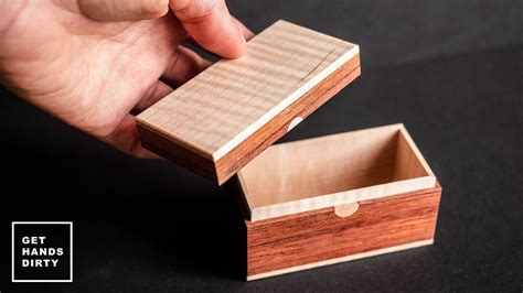 Small Wooden Box // Last Minute Gift Ideas   YouTube