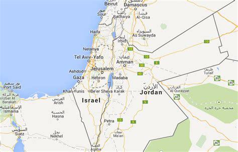 Mapa de Palestina, donde está, queda, país, encuentra ...