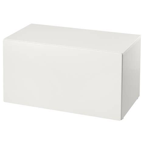 SMÅSTAD Banco con almacenaje juguetes   blanco/blanco   IKEA